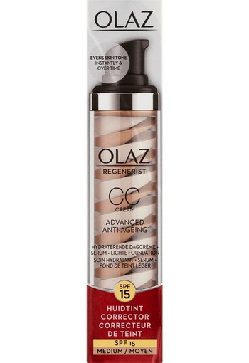 Olaz Regenerist CC Dagcrème SPF15 Medium  50ml