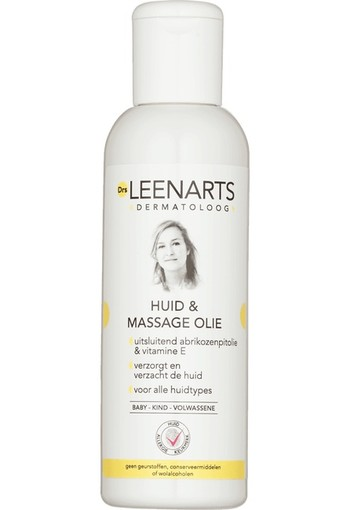 Drs Leenarts Huid & Massage Olie 100 ml