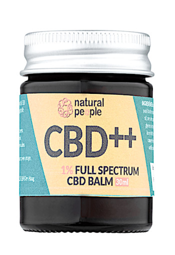Natural People 1% Full Spectrum CBD Balm 30 ml
