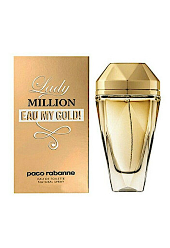 Paco Rabanne Lady Million Gold 80 ml - Edt - for Women