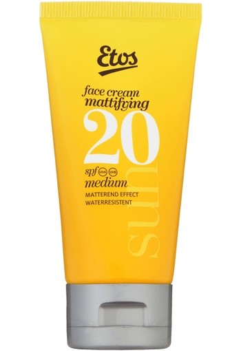 Etos Sun Face Cream Mattifying SPF20 50 ml