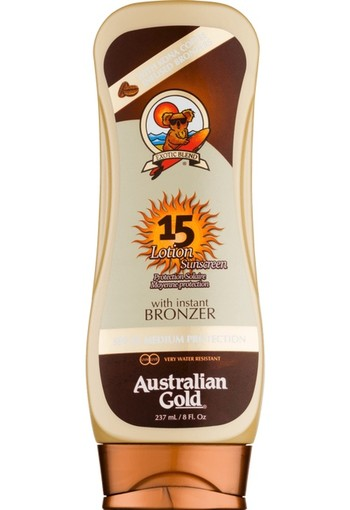 Australian Gold Lotion With Instant Bronzer SPF15 237 ml