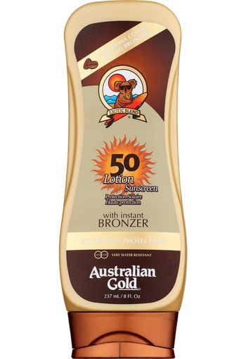 Australian Gold Lotion With Instant Bronzer SPF50 237 ML