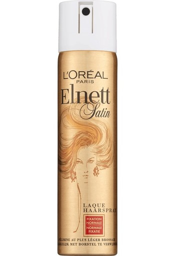 LOREAL PARIS ELNETT SATIN HAARSPRAY NORMAAL MINI 75 ML