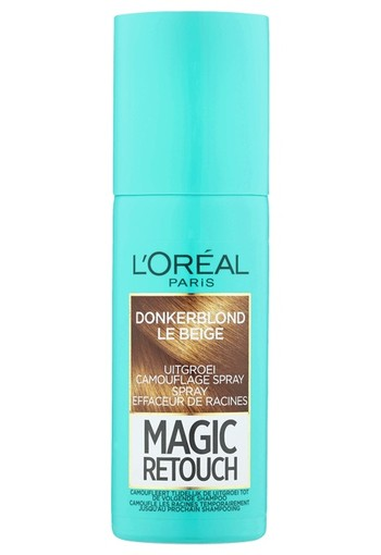 L'Oréal Paris Magic Retouch Uitgroei Camouflage Spray 4 Donkerblond 75 ml