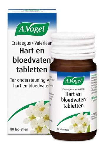 A Vogel Crataegus complex (80 tabletten)