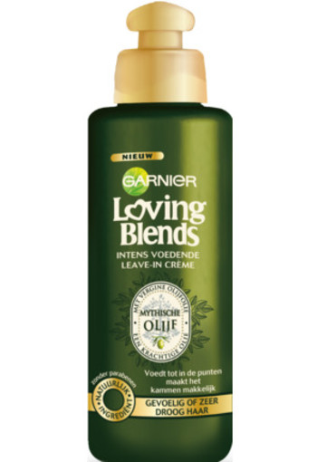 Garnier Loving Blends Leave In Creme Olijf 200ml
