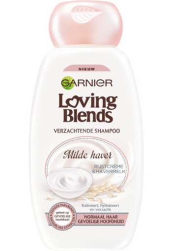 Garnier Loving Blends Shampoo Milde Haver 300ml