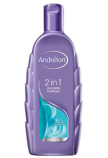 Andrelon Shampoo 2 In 1 Fris & Mild 300ml