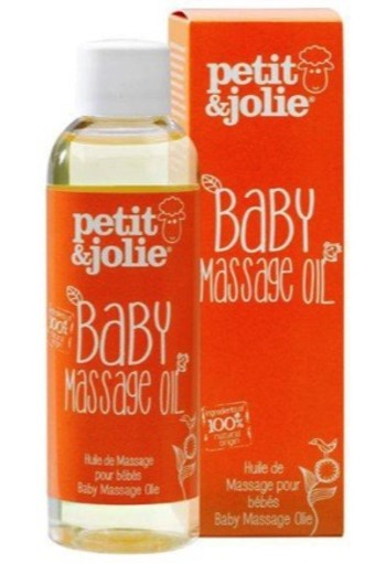 Petit & Jolie Baby Massage Oil 100ml