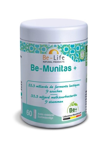 Be-Life Be-munitas+ (60 softgels)