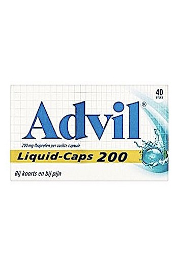 Advil Liquid Caps 200 40ca