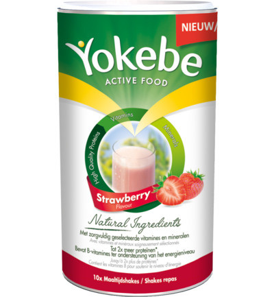 Yokebe Strawberry 500g