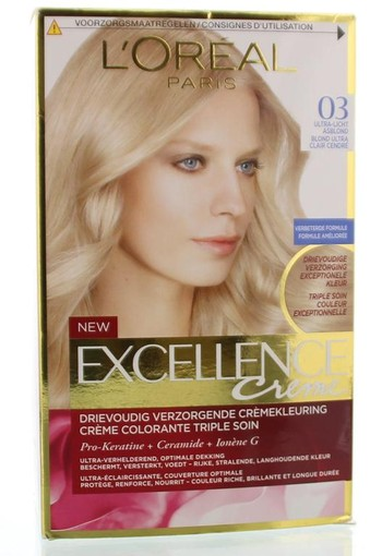 Loreal Excellence blond 03 Asblond (1 set)