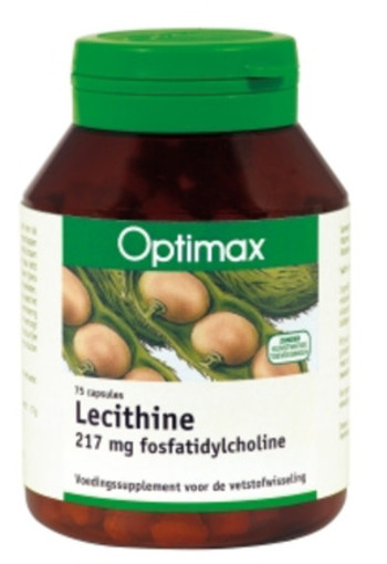 Optimax Lecithine 217 Mg Fosfaat (75ca)