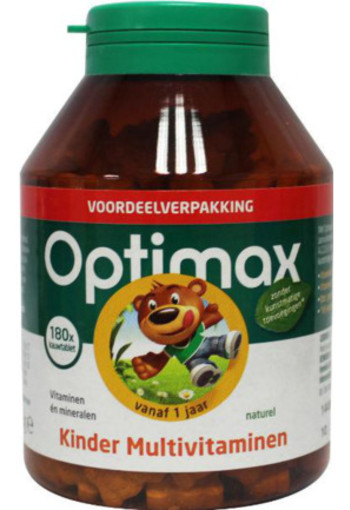 Optimax Kinder Multivit Naturel (180kt)