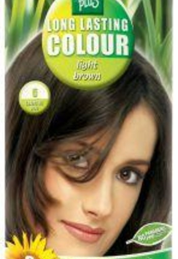 Henna Plus Long lasting colour 5 light brown (100 ml)