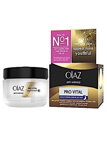 Olaz Anti Wrinkle Pro Vital Nacht 50ml