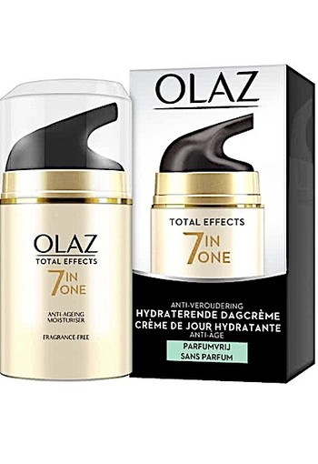Olaz Total Effects 7 In 1 Dagcreme Parfumvrij 50ml