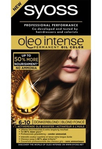 Syoss Color Oleo 6.10 Donker Blond