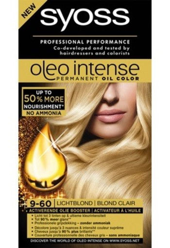 Syoss Color Oleo 9.60 Licht Blond