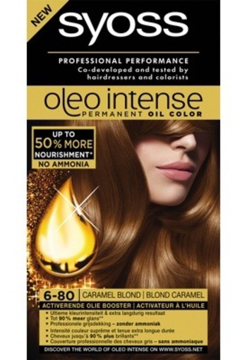 Syoss Color Oleo 6.80 Caramel Blond