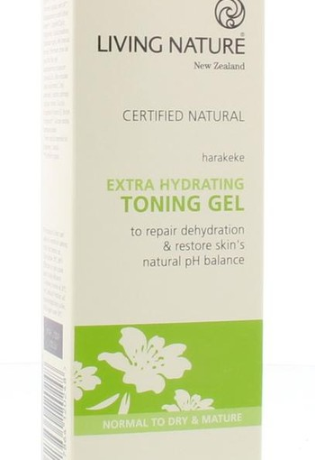 Living Nature Gel toner extra hydraterend (100 ml)