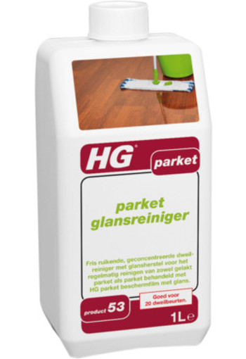 Hg Parket Wash & Shine Glansreiniger 53 1000ml