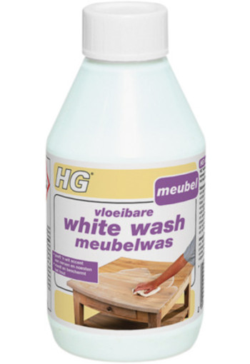 Hg Vloeibare White Wash Meubel 300ml