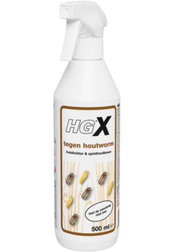 Hg X Houtwormmiddel Spray 500ml