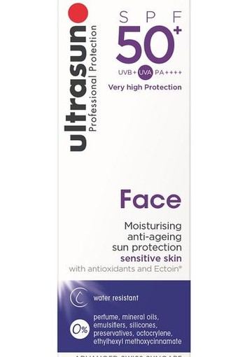 Ultrasun Face creme SPF 50+ (50 ml)