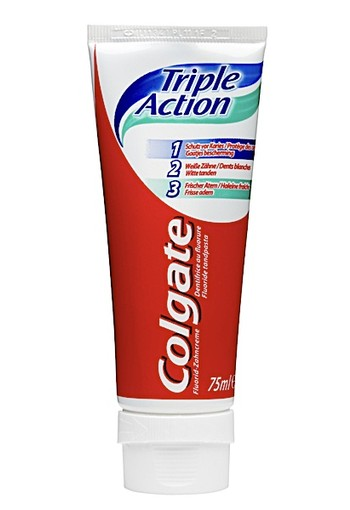 Colgate Triple Action Tandpasta 75 ml