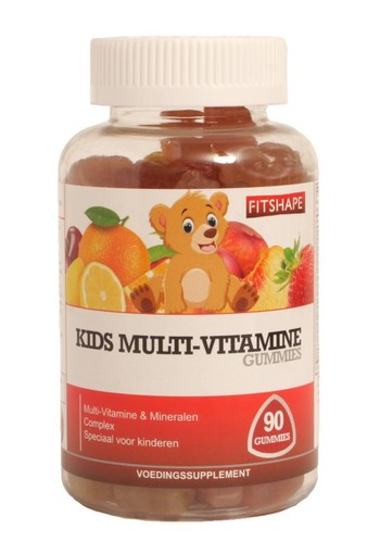 Fitshape Kids multi-vitamine gummies (90 stuks)