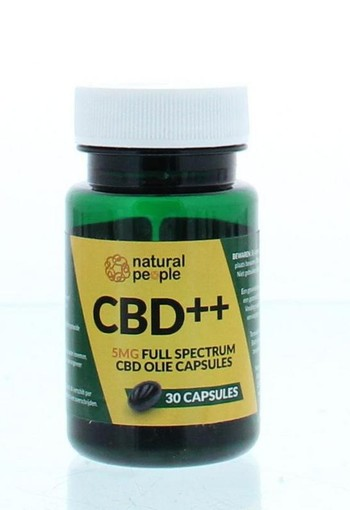 Natural People CBD Softgelcaps (30 capsules)