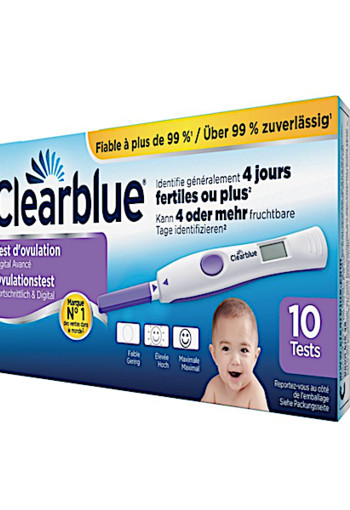 Clearblue Digitale Ovulatie Stick 10st