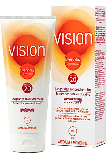 Vision Zonnebrand Every Day Sun Protection SPF 20 200ml