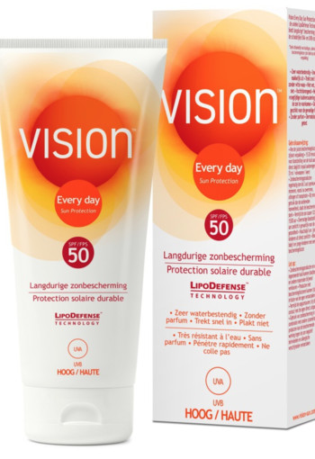 Vision Zonnebrand Every Day Sun Protection SPF 50 200ml