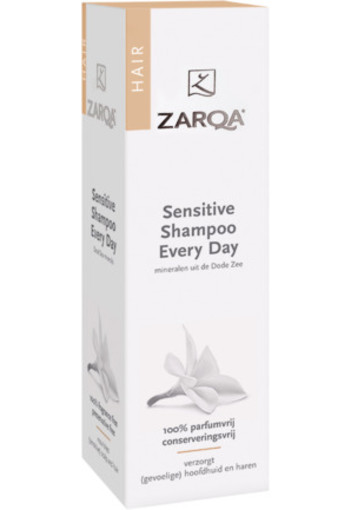 Zarqa Shampoo Sensitive Every Day Sles Vrij 200ml