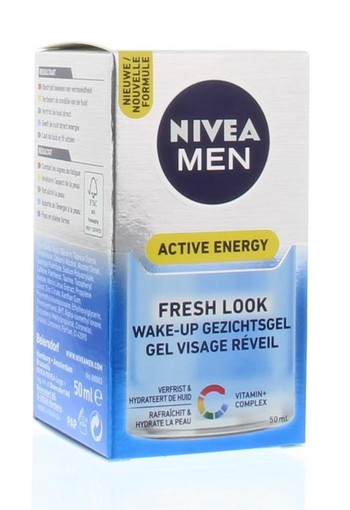 Nivea Men gezichtsgel active energy (50 ml)