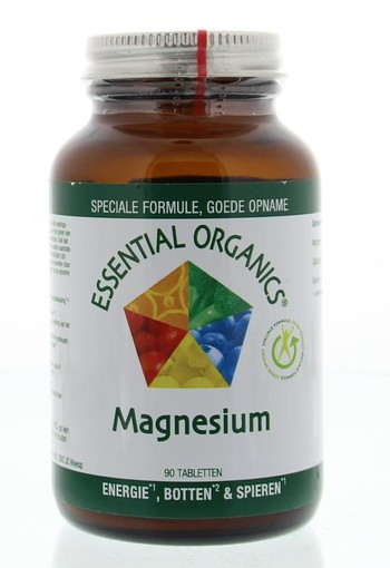 Essential Organ Magnesium 300 mg (90 tabletten)