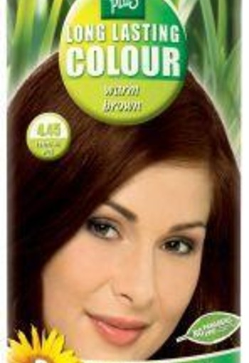 Henna Plus Long lasting colour 4.45 warm brown (100 ml)