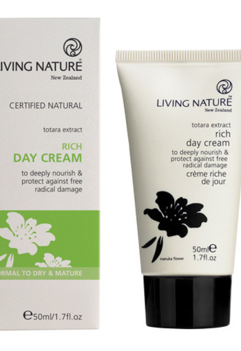 Living Nature Dagcreme rijk (50 ml)