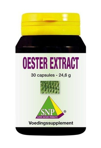 SNP Oester extract 700 mg (30 capsules)