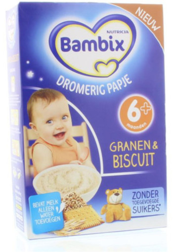 Bambix Dromerig Papje Biscuit 250g