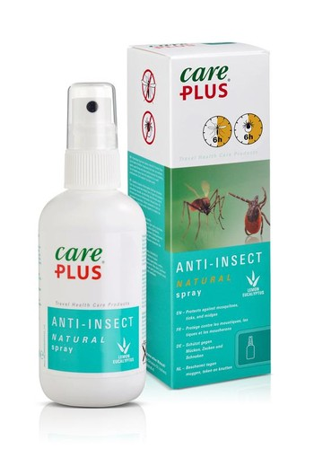 Care Plus Anti insect natural spray (100 ml)