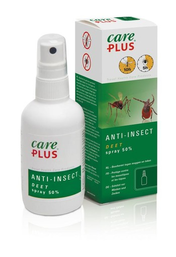 Care Plus Deet spray 50% (60 ml)