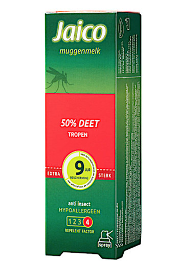 Jai­co Mug­gen­melk spray 50% / 50 ml