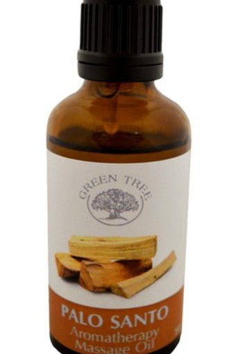 Green Tree Massage olie palo santo (50 ml)
