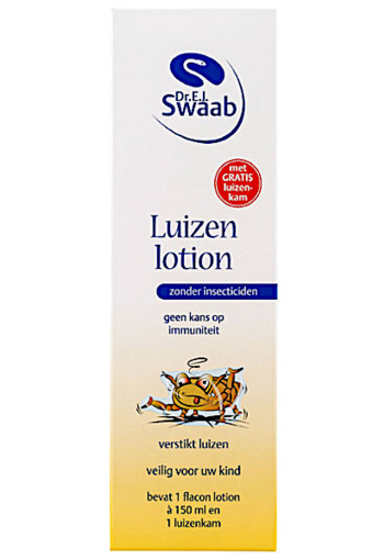 Dr Swaab Lui­zen­lo­ti­on  150 ml
