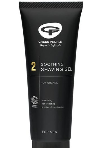 Green People Men shaving gel soothing (100 ml)